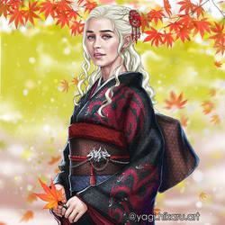 Kimono of the House Targarien by yagihikaru