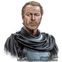 Jorah Mormont / Game of Thrones by yagihikaru
