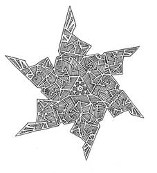 6-point Star by Toucam