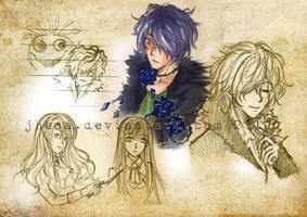 [IB] random sketches by jheaa