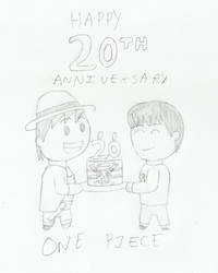 One Piece's 20th Anniversary (indigobunny99) by barneyjones123