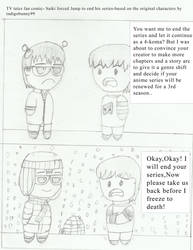 TV tales fan comic Saiki forces Jump by barneyjones123