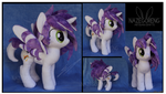Trade: Wickle OC Custom Plush by Nazegoreng