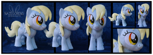 Filly Derpy Hooves Custom Plush by Nazegoreng
