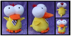 Ducky Custom Plush by Nazegoreng