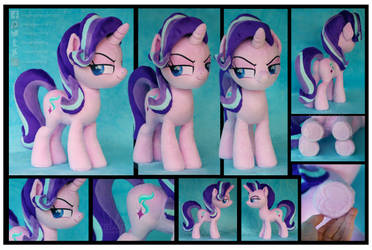 Movie Style Starlight Glimmer Custom Plush by Nazegoreng