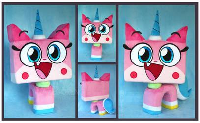 Princess Unikitty Custom Plush by Nazegoreng