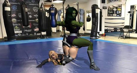 Avengers training by TinOmenOgre