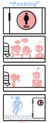 Packing: A Trans* Comic by kiku-chan13