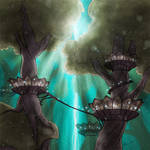 Forest Palace by karchew