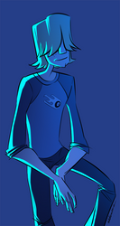 Blue Lightning by Mazzera