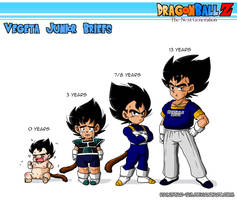 (DBZ OC) | Vegeta Junior | Childhood by Rainstar-123
