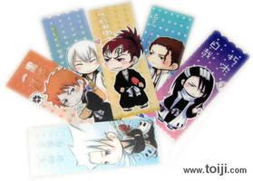 Bleach PVC bookmark by toiji