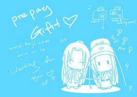 Shinn and Shiny bag A by toiji