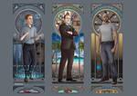 Art Nouveau - Agents of SHIELD Men by eclecticmuses