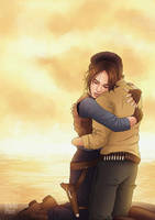 Star Wars: Rogue One - Final Moments by eclecticmuses