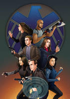 Agents of SHIELD - Concept Poster by eclecticmuses