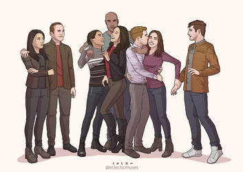 Agents of SHIELD - Season 5 Tribute by eclecticmuses