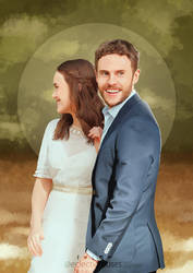 Fitzsimmons - Wedding Portrait by eclecticmuses