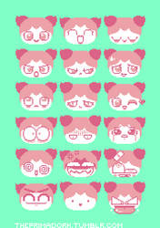 Faces for Every Occasion by Primadork