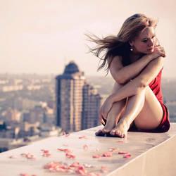 When it all falls down.. by Khomenko