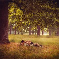 If I Lay Here.. by Khomenko