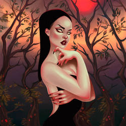 Morticia by Orphae