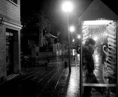 Just a little rain... by misfitdoll