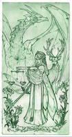 Muliphein (first human version) tarot by Coeleth