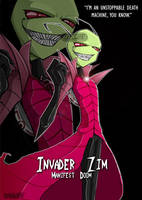 Invader Zim - Unstoppable by Krusnik007
