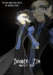 Invader Zim - Without Fear by Krusnik007