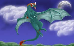 Twilight Dragon by WindieDragon