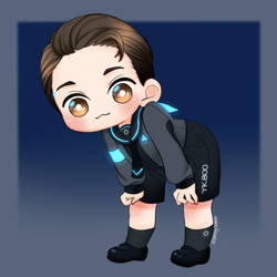 Detroit become human - connoryk800 at your service by SmilingSatellite