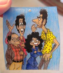 Seinfeld Shrinky Dink by Groovygirlsuzy17