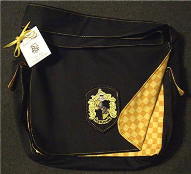Hufflepuff Bookbag by Groovygirlsuzy17