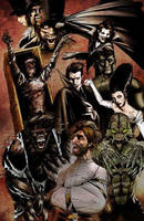UNIVERSAL MONSTERS by innerspace1