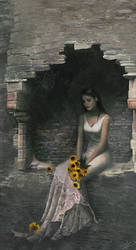 Light of Sunflowers by enayla