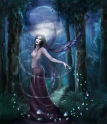 Nightly Forests by enayla
