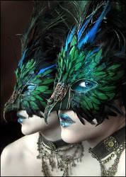 Green Mask by enayla