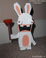 Rabbid Paper Craft by Yakkomia