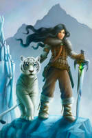 Huntress and Tiger by schattenlos