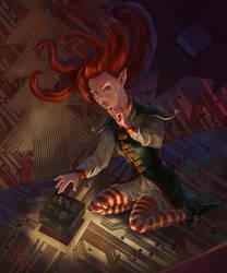 New Year Elf by AlexeyRa