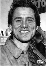 Portrait of Jim Carrey HQ (SALE) by taylorweaved