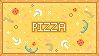For the Love of Pizza .:Stamp:. by TheNaughtyFish