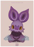 Pokemon: Noibat by Teahaku