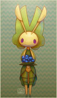 Pokemon: Leavanny by Teahaku