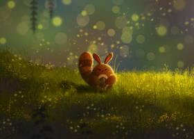 Pokemon: Warm Sunset by Teahaku