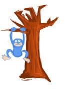kof monkey by oridan2
