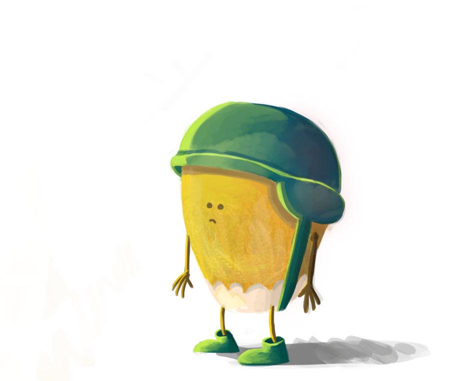 corn soldier by oridan2