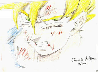 Goku Fanart by princetrunks415